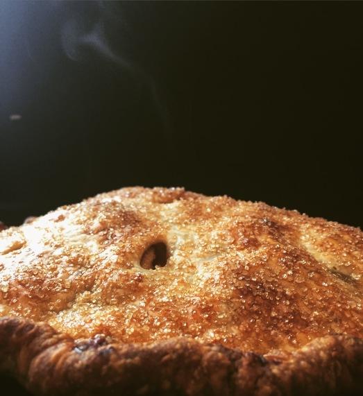 steamy apple pie